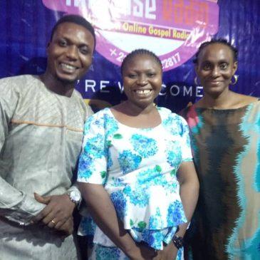"Hosting the Veteran Gospel Musician ""Bose Adeiwa"""
